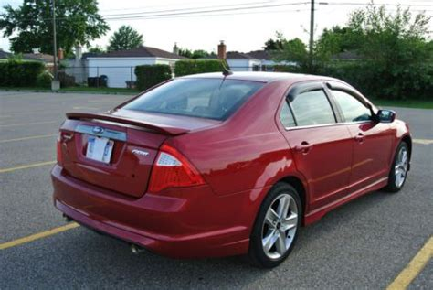 sell   ford fusion sport sedan  door   sterling heights michigan united states