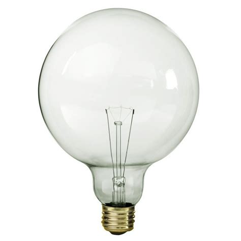 60 watt clear globe light bulb 60 watt g40 globe bulb clear 130 volt