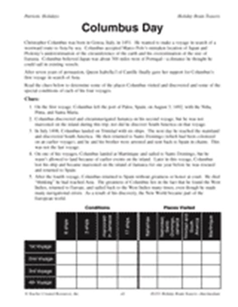 christopher columbus biography for 5th grade a thanksgiving feast printable math activity grades 3 4
