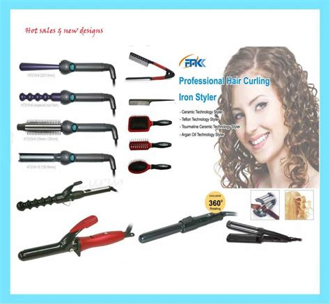 Types Of Hair Curling Irons by Different Types Of Hair Curlers View Hair Curler Fmk
