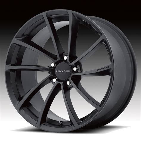Handmade Wheels - kmc km691 spin satin black custom wheels rims kmc custom