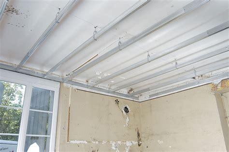 Faux Plafond Avec Suspente by Faux Plafond Avec Suspente 28 Images Plafond Placo