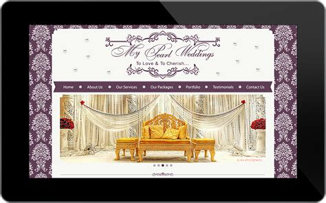 Wedding Planning Websites by Website Design Portfolio Professional Graphic And Website