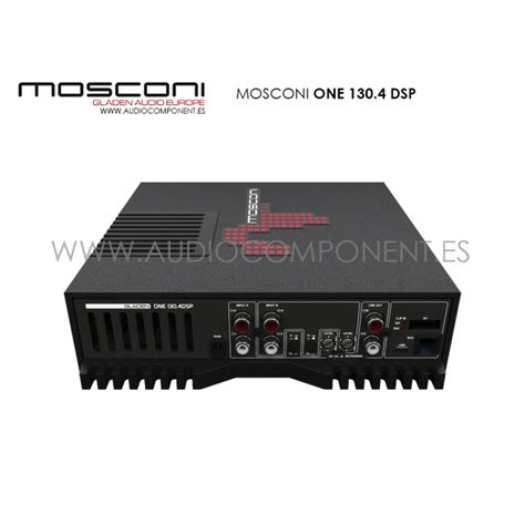 Lifier Mosconi One 130 4 lificador coche mosconi one 130 4 dsp hi end made in italy