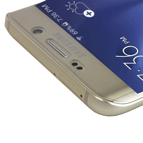 Screen Guard Samsung Galaxy S6 Edge Set Original Glare skinomi techskin samsung galaxy s6 edge edge plus screen protector 2 pack