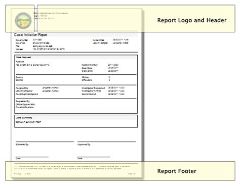 sle investigation report template