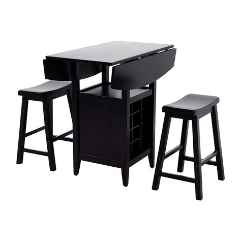 Stool And Dinette by 30 Dinette Wood Table With Storage With Two Stools Tables