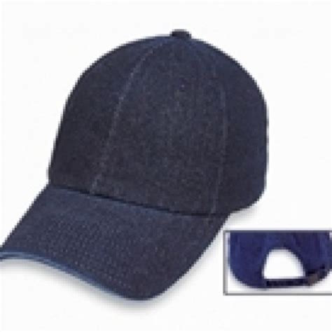 denim baseball cap washed sold out