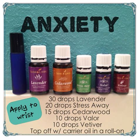 essential oils for anxiety 1000 ideas about living oils on living living