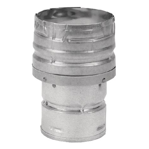 wood stove pipe fan duravent pelletvent 3 in to 4 in double wall chimney