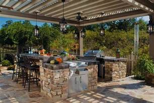 outdoor grill island plans