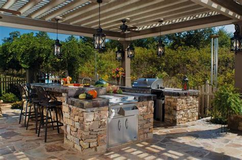 Covered Outdoor Kitchen Designs Designs Outdoor Patio Bbq Smoker Kitchen Design Island Covered Kitchens Best Free Home