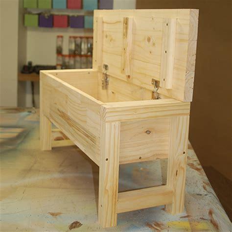 storage bench with lid home dzine home diy bathroom storage bench