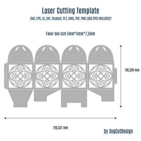 5 free gift box templates excel pdf formats lace wedding favor box template laser cutting commercial