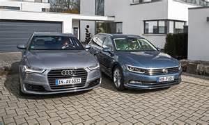 Audi Passat Audi A6 Avant Vs Vw Passat Variant Autozeitung De