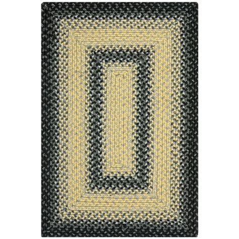 two grey rugs safavieh braided black grey 2 ft x 3 ft area rug brd311a 2 the home depot