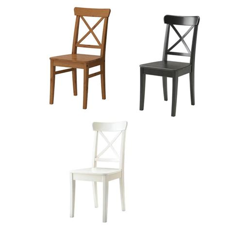 Ikea Wooden Chair by Ikea Chair Ingolf Solid Wood In Three Colours Ebay