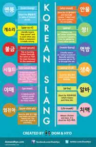 colors in korean korean slang infographic dom hyo korea comics graphics
