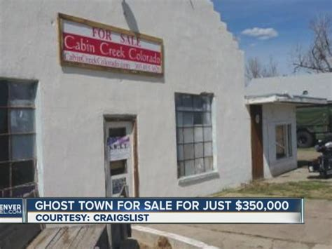 ghost town for sale colorado ghost town for sale cabin creek listed for