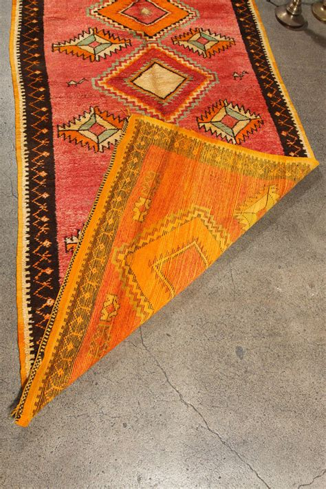 tribal rug vintage moroccan tribal rug runner matisse style for sale at 1stdibs