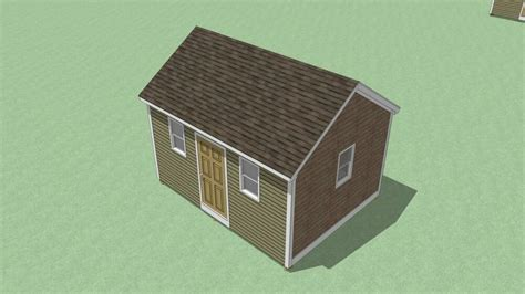 storage shed plans gable roof step  step