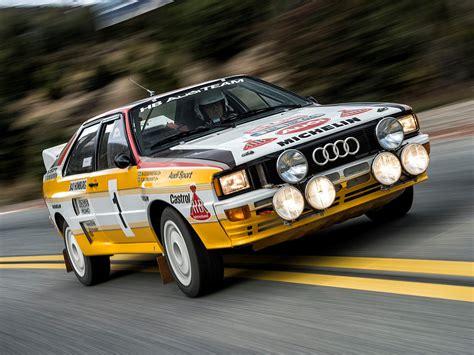 Audi Rally Quattro by Audi Quattro B Rally Car Typ 85 1983 85