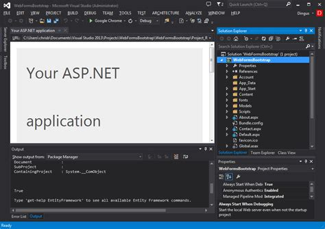 bootstrap templates for visual studio 2013 using bootstrap with studio for asp net wijmo componentone