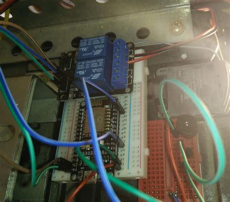 Esp8266 Nodemcu Relay Wifi Garage Door Opener With Blynk Garage Door Opener With Wifi