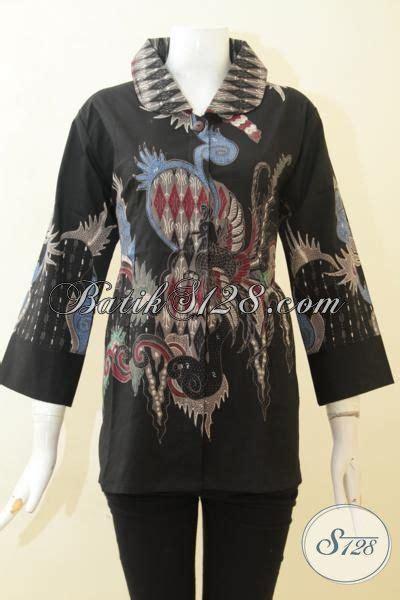 desain baju kerja keren blus batik untuk kerja baju batik keren desain mewah