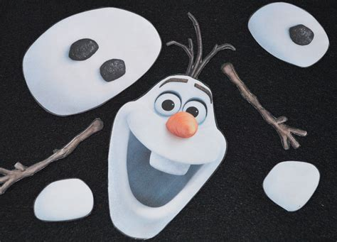 printable olaf body parts 8 best images of olaf printable snowman parts olaf