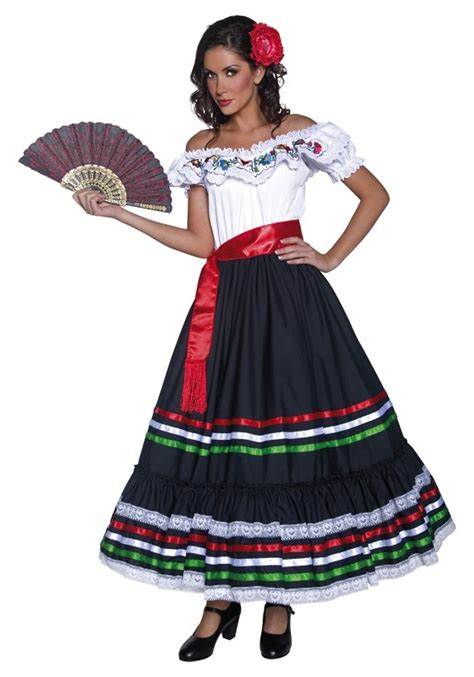 how to draw a traditional mexican dress brown hairs