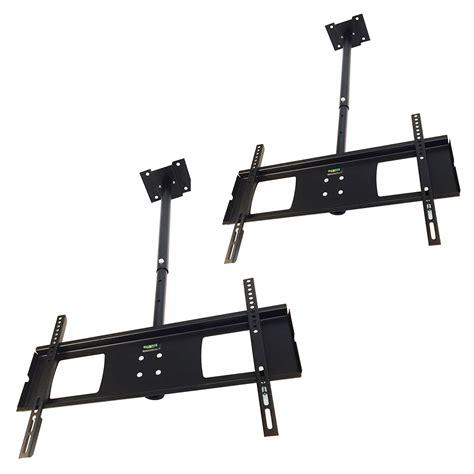 Bracket Ceiling 4 Lcd Tv 2 swivel ceiling mount tv led lcd 4k hanging pole bracket
