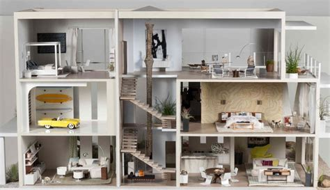 designer doll houses contemporary beach house two with interior design by chris barrett and the team of
