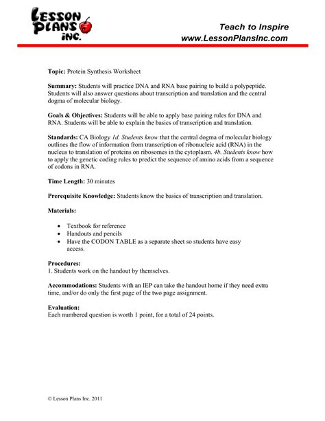 Translation Practice Worksheet by Transcription And Translation Practice Worksheet The