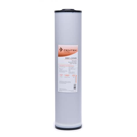 Cartridge Water Filter Filter Air 20 Inch Dewater pentek bbf1 20mb whole house water filter