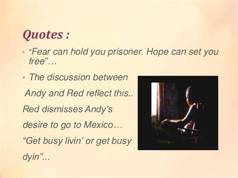 themes in shawshank redemption film the shawshank redemption presentation