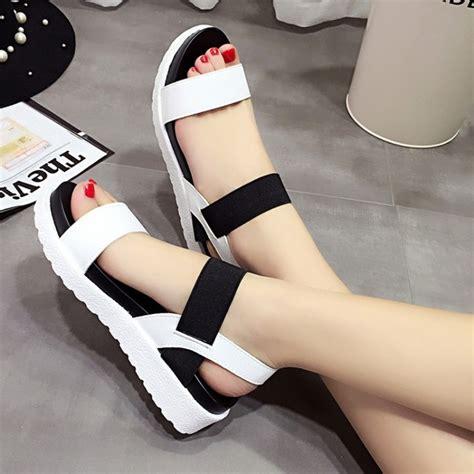 imagenes de zapatillas coreanas zapatos mujer sandalias