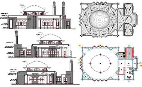 Good Church Front View Design #3: The-Architecture-Layout-Plan-of-Iranian-Mosque-Elevation-dwg-file-Mon-Nov-2017-08-53-26.png