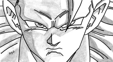 imagenes a lapiz faciles de goku dibujos y caricaturizacion a la carta son goku mi dibujo