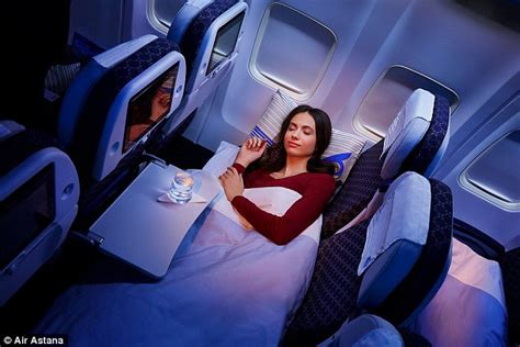 Airline Sleeper Seats by Air Astana Launches Economy Sleeper Class On Flights