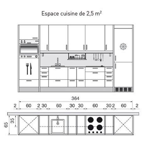 plans de cuisines plan de cuisine l am 233 nager de 1m2 224 32m2