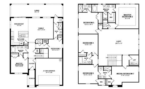beazer home floor plans beazer home floor plans house design plans