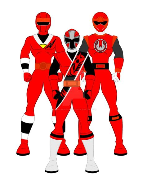 film ninja renjer alien ninja storm ninja steel red ranger by