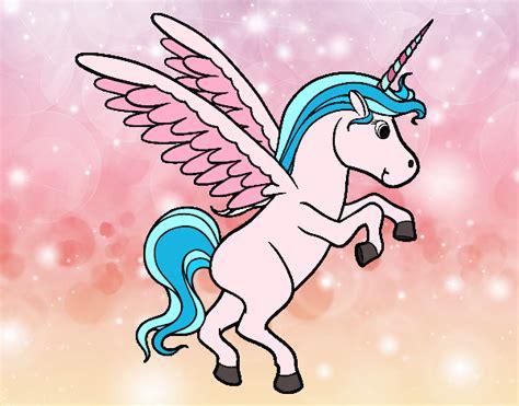 unicornios imagenes alas dibujos de unicornios para colorear dibujos net