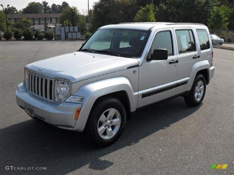 jeep silver 2010 bright silver metallic jeep liberty sport 4x4