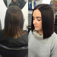 bob brunette ombre bob ashleigh mclean meg willes on instagram ashles96 before and after her