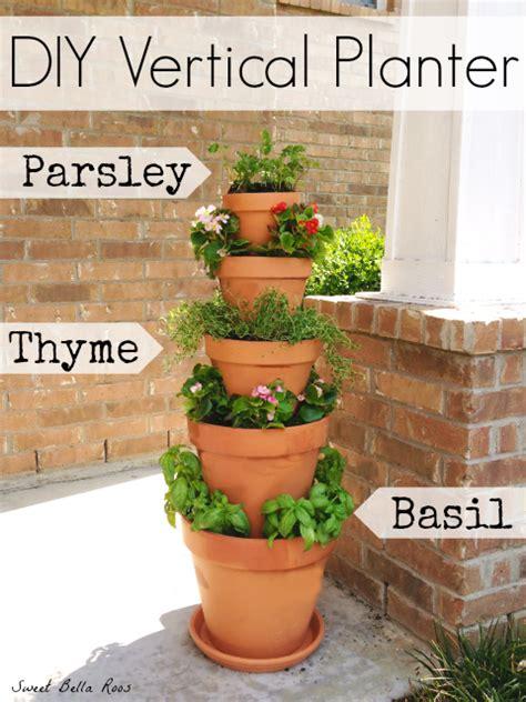 diy vertical planter vertical garden diy herb garden