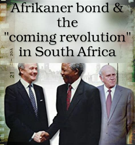 Bond South Africa Mba by A Documentary On The Modern Afrikanerbond The