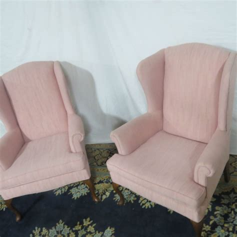 Pink Folding Cing Chair by Pink Winged Club Chairs Casey And Gram