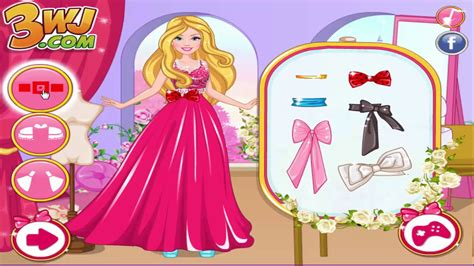 barbie fashion design maker youtube barbie games barbie fashion designer contest ब र ब ख ल